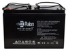Raion Power RG121000I4 12V 100Ah Multipurpose Sealed Lead Acid Battery