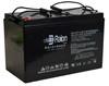 Raion Power RG121000I4 12V 100Ah Battery With Internal Thread Terminals