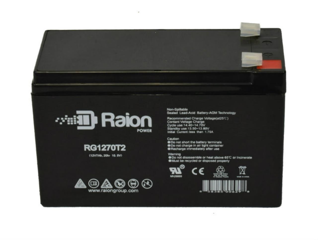 Replacement Battery For Tripp Lite SUA1400net 8ah