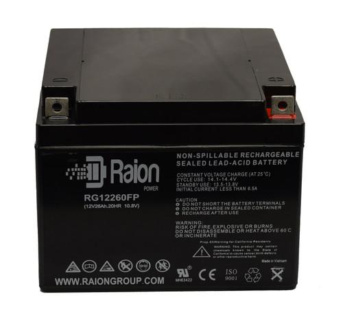 Raion Power RG12260FP 12V 26Ah Sealed Lead Acid Battery