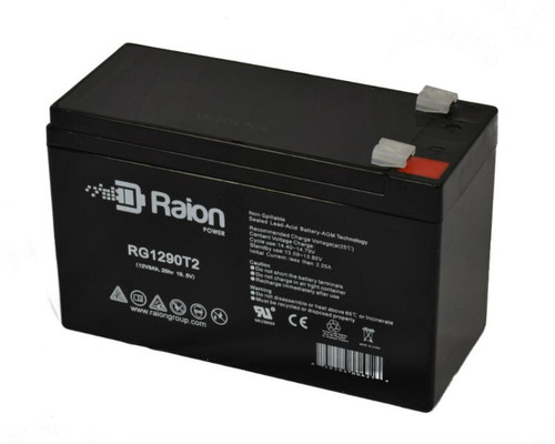Raion Power RG1290T2 Replacement Electric Scooter & Bicycle Battery for Amplifer A7 Scooter