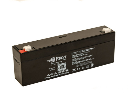 Raion Power RG1223T1 Replacement Battery for Narco Air Shields AS70 Volume Infusion Pump