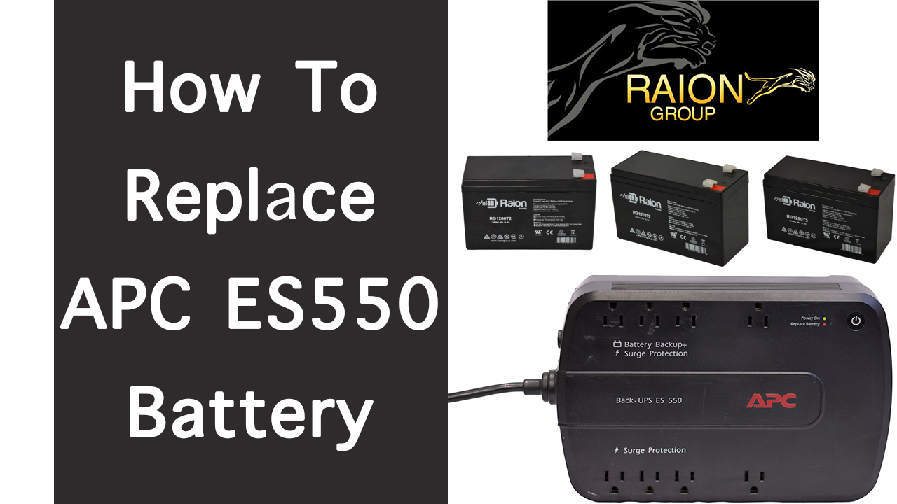 How To Replace APC Back-UPS ES 550 RBC Battery