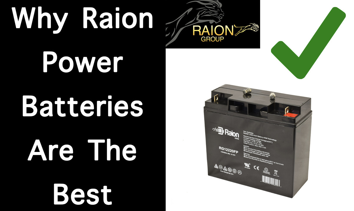Why You Should Replace Your Batteries With Raion Power Batteries