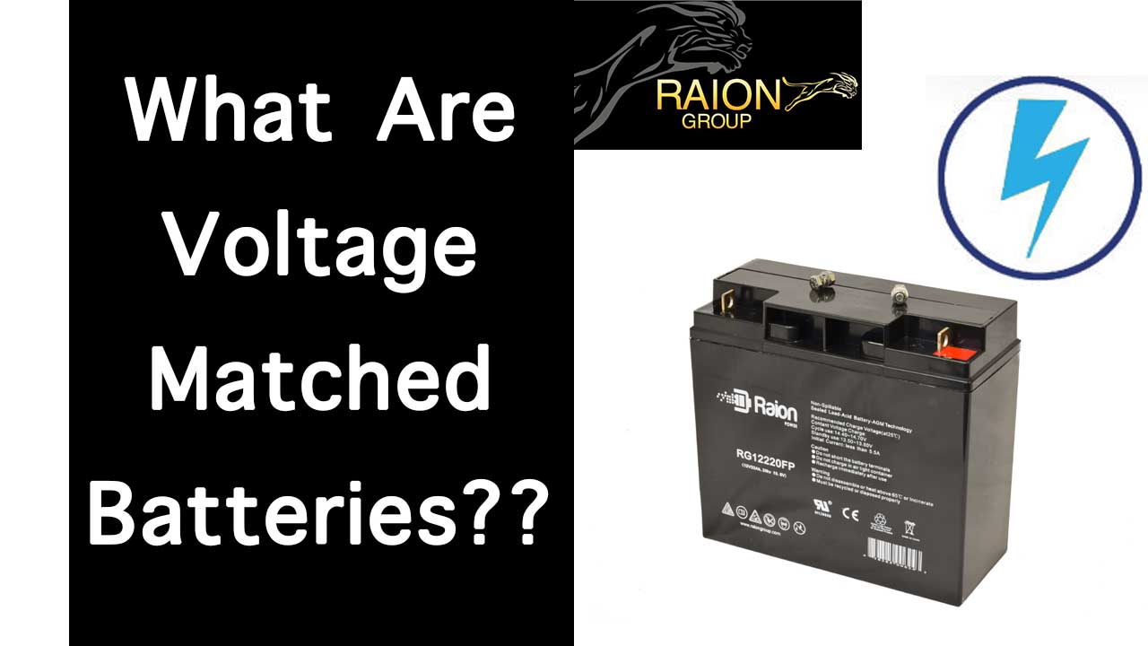 Why You Should Use Voltage Matched Lead Acid Batteries