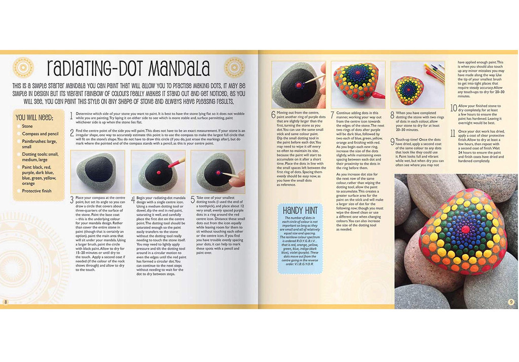 Paint Your Own Mandala Stones