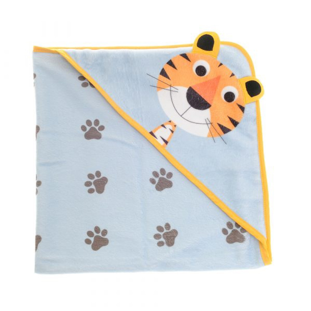 Terrence Tiger Hooded Bath Towel