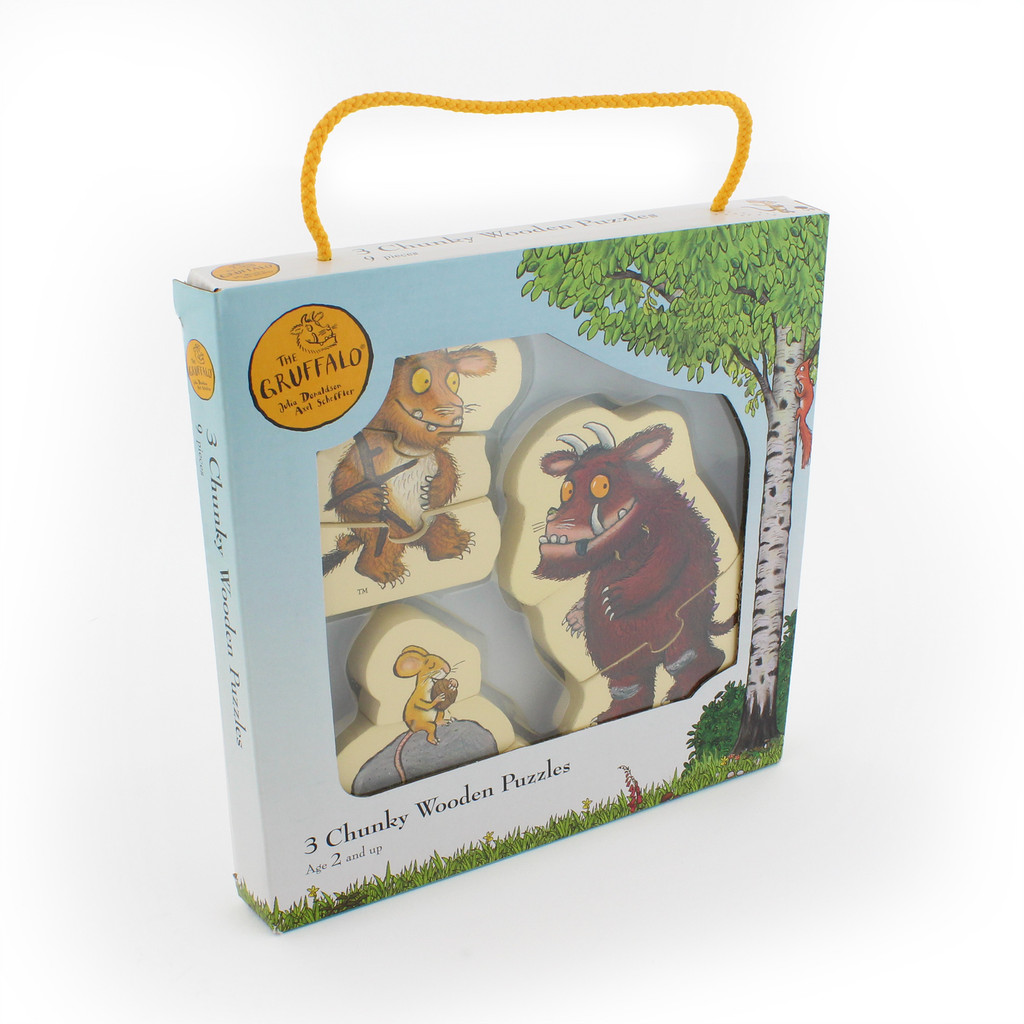 The Gruffalo Chunky Wooden Puzzles