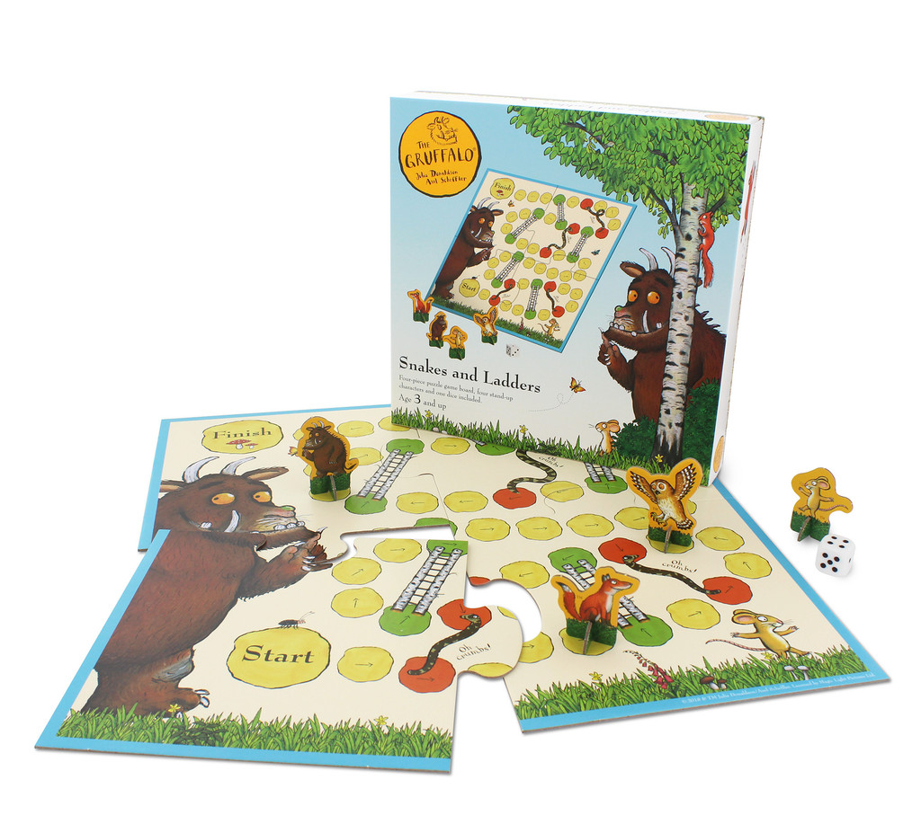 The Gruffalo Snakes and Ladders