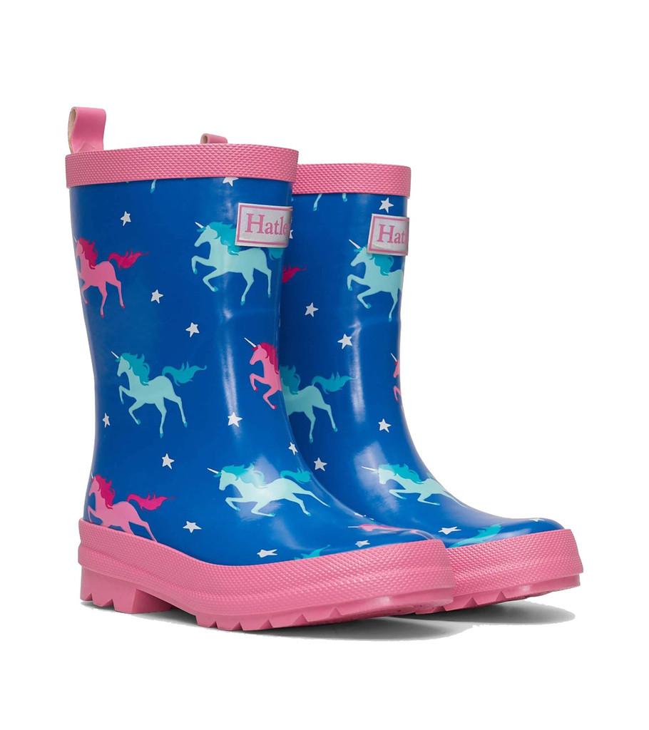 Twinkle Unicorns Shiny Rain Boots