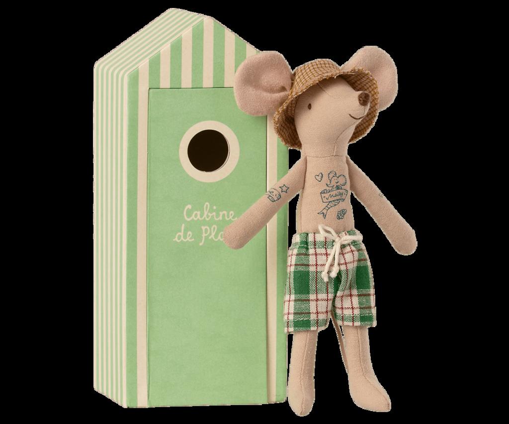 Beach Mice - Dad In Cabin de Plage
