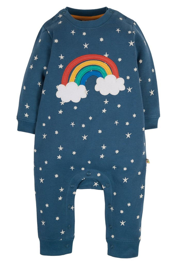 Snug & Cosy Romper - Abisko Stars/Rainbow