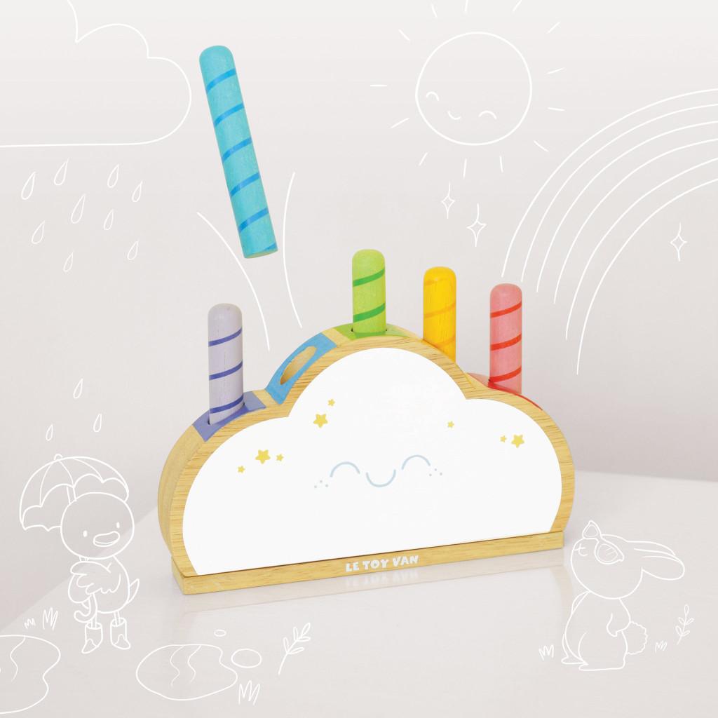 Rainbow Cloud Pop