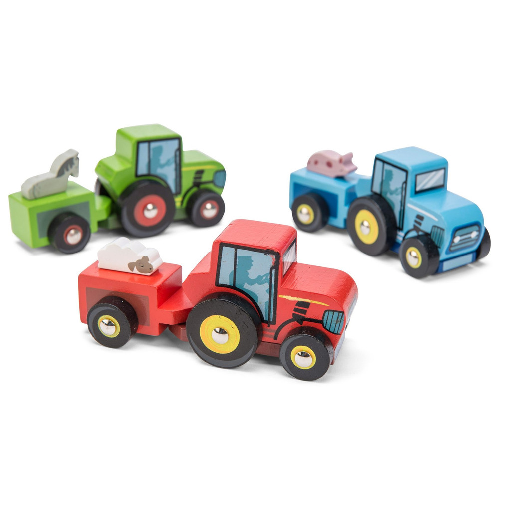 Wooden Tractor Trails