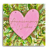 Anniversay Wishes - Pink Heart MC24