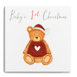 Baby's 1st Christmas Teddy Bear FMX11