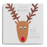Christmas Wishes And Big Rudolf Kisses FYX15