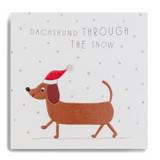 Dachshund Through The Snow FYX14