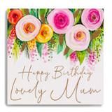 Happy Bday Lovely Mum - Flowers MC13