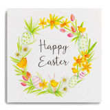 Happy Easter Wreath CHT01
