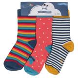 3 Pack Pony Socks