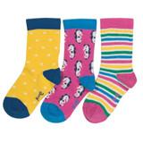 3 Pack Seahorse Socks