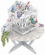 Butterflies & Birds Table  3D019