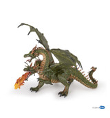 Green Two Headed Dragon - Papo