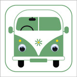 Carrie Campervan - Wobbly Eyed 410