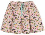 Lizzie Cord Skirt - Soft Pink Tweet