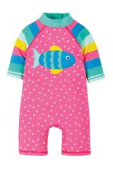 Little Sun Safe Suit - Flamingo Spot/Fish