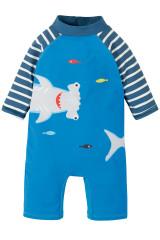 Little Sun Safe Suit - Motosu Blue/Shark