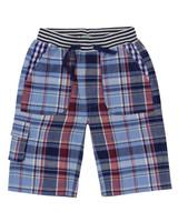 Woven Shorts - Check