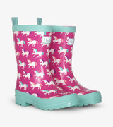 Mystical Unicorns Shiny Rain Boots