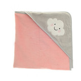 Rosie Cloud Hooded Bath Towel