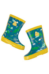 Puddle Buster Welly Boots - Loch Blue Nessie