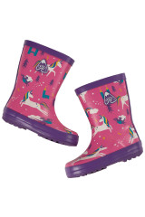Puddle Buster Welly Boots - Unicorn Puddles
