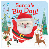 Santa's Big Day Chunky Finger Puppet Book