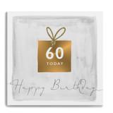 60 Today Happy Birthday Present Gle20