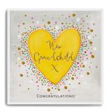 Congratulations New Grandchild - Heart LA13