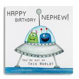 Happy Birthday Nephew MS18