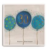 Large blue balloons - 30th Birthday LA70