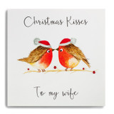 Christmas Kisses To My Wife CHX14