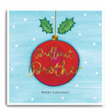 Large Red Bauble - Brilliant Brother, Merry Christmas FPX15