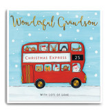Large Red Bus - Wonderful Grandson FPX19