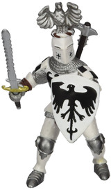 Crested Knight (White) - Papo