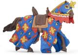 Blue Horse Fleur De Lys