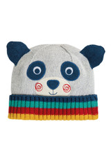 Friendly Face Knitted Hat - Panda