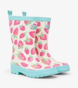 Delicious Berries Shiny Rain Boots