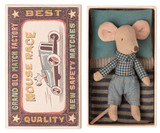 Little Brother Mouse In Matchbox